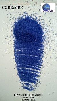 Granular Silica Quartz Colored Royal Purple Silica Sand Price Per Ton