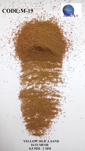 Yellow Silica Sand