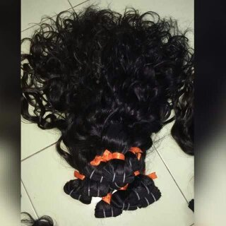 Peruvian Curly Hair Extensions