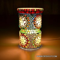 Mosaic Decorative Glass Table Lamp