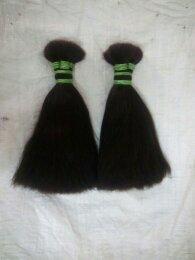 Double Drawn Human Hair