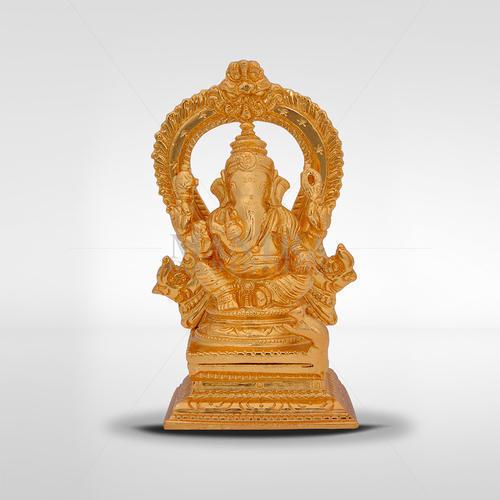 Bronze Ganesh Statue