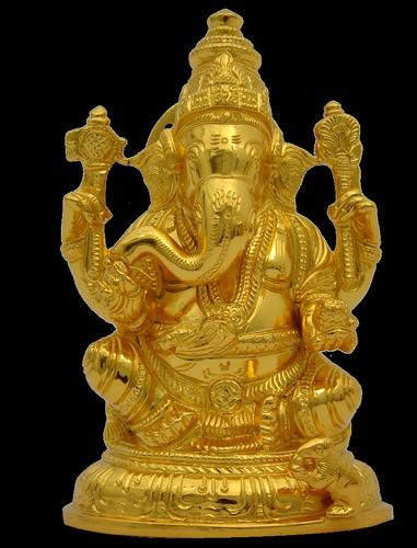 Ganesha with Base 5 inch