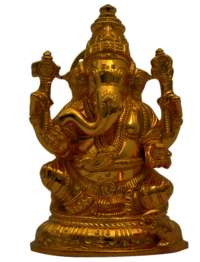 Ganesha with Base 5 inch