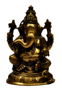 5 inch Ganesha Idol with Base