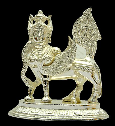 6 inch Kamadhenu statue