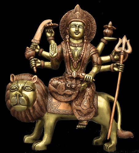 Durga Devi 9.5 inch Statue
