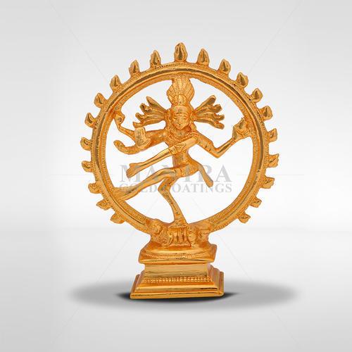 Brass Nataraja Idol