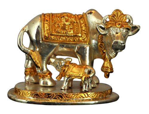 2.75 inch Holy Cow Gomatha Statue