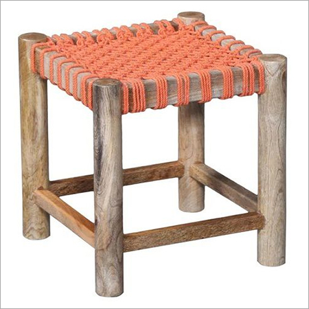 Solid Wood Sitting Stool