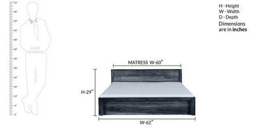 Double Bed: Style - 6
