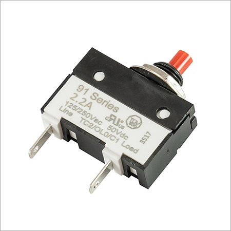 Thermal Circuit Breaker 91-BPR-2.2A-00