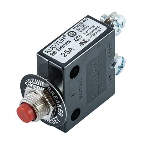 Thermal Circuit Breakers 98-25-A1RF4-B0B-NB