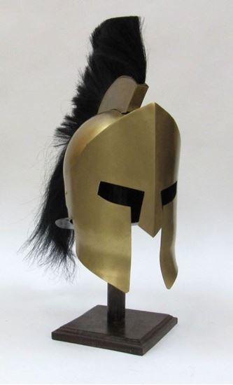 Leonidas 300 Helmet with Plume