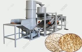 Nuts and Seeds Shelling LIne