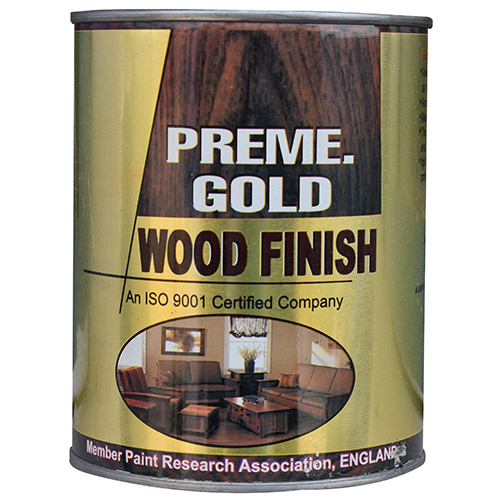 Preme Gold Wood Finish Paint
