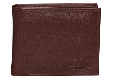 Brown Artificial Leather Wallet