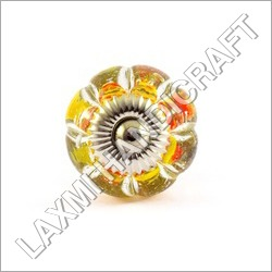 Colorful Glass Cabinet Knob
