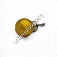 Crackled Mercury Glass Cabinet Knobs