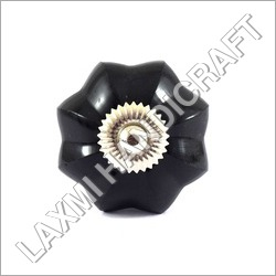Black Melon Glass Door Knob