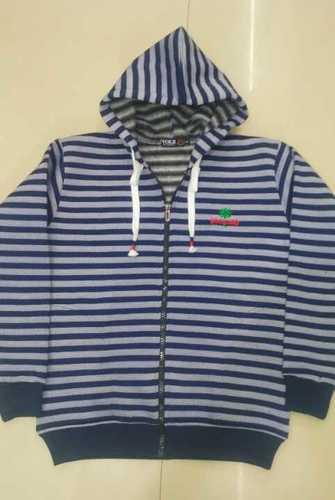 Lining zipper hoodie