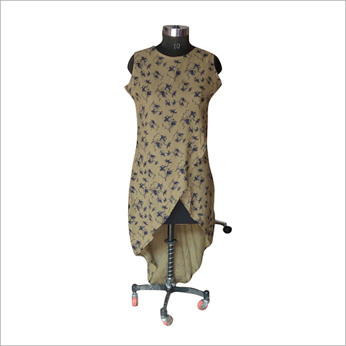 Ladies Fish Cut Rayon Kurti