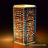 Mosaic Handmade Glass Candle Holder