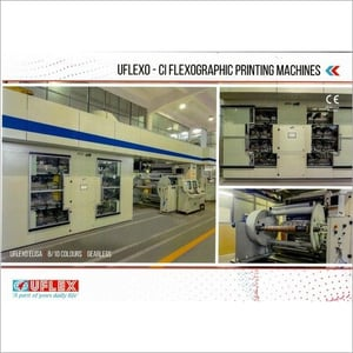 CI Flexo Printing press Model- Elisa