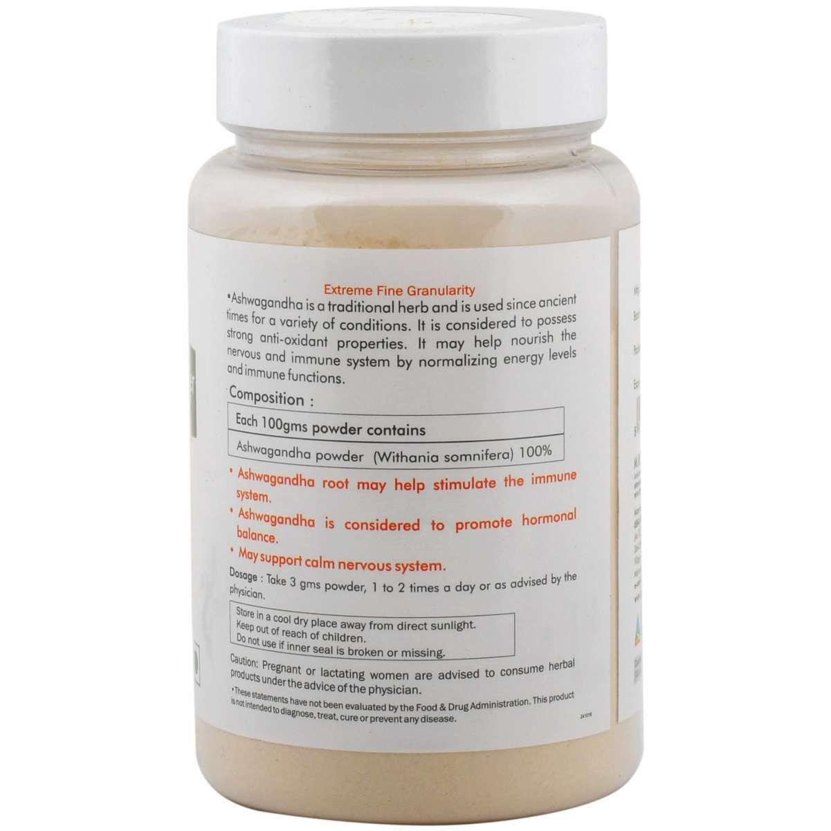 Ayurvedic Ashwagandha Powder 100gm - Stress Management & Mens health