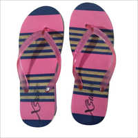 Pink Ladies PU Slippers