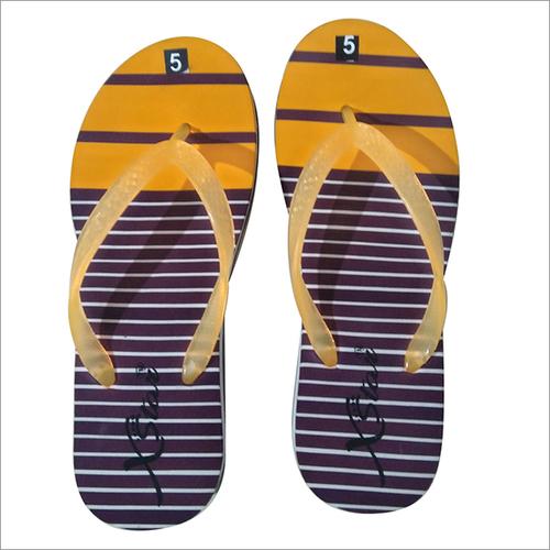 Yellow Ladies Slippers