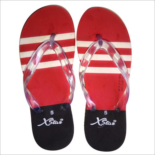 Red Hawaii Ladies Slipper