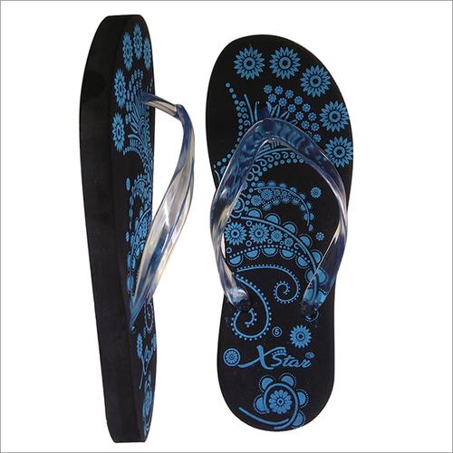 Black Hawaii Slipper For Ladies
