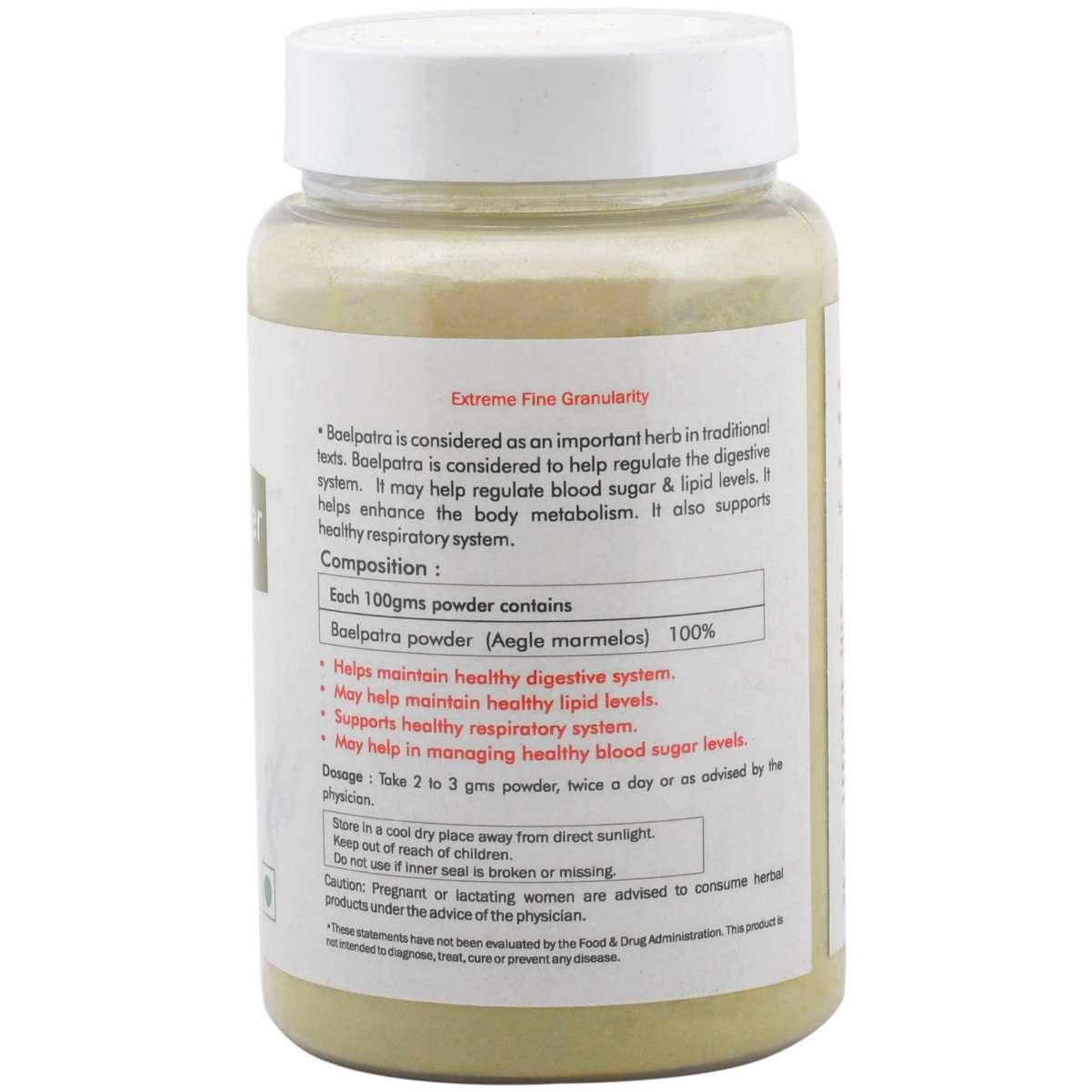 Ayurvedic Bael Patra Powder 100gm (Pack of 2) - Blood Sugar management Diabetes control