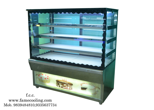 SS Glass Sweet Display Counter
