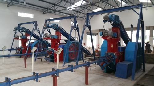 Soybean Briquetting Machine