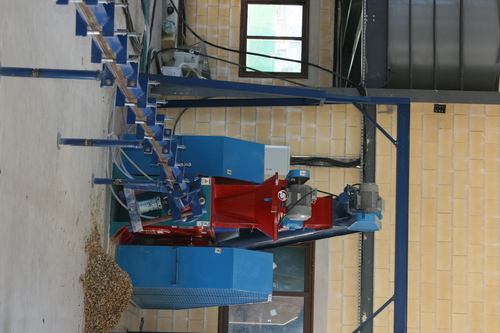 Cotton Stalk Briquetting Machine