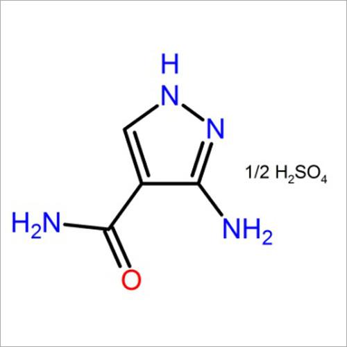3-Aminopyrazole-4-Carboxamide Hemisulfate