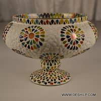 Mosaic Handmade Glass Bowl