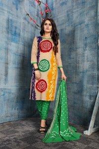 Ladies Pure Cotton dress material