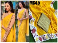 Chanderi Silk Saree, Occasion Wear, Festive Wear