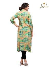 Sleeve Ladies Rayon Kurti
