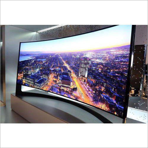 Curved 4K Ultra HD Smart LED TV