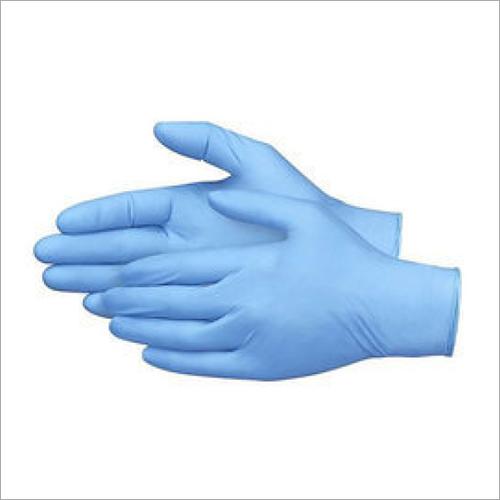 Nitrile Sky Blue Hand Gloves