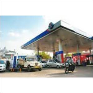 Rectangle Petrol Pump Canopy
