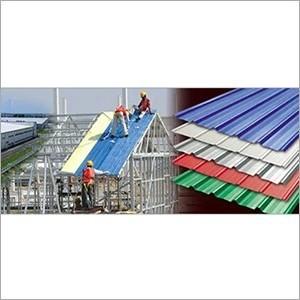 Roofing Sheet Civil Work