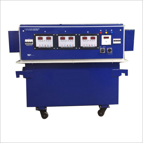 15 KVA Servo Controlled AC Voltage Stabilizer