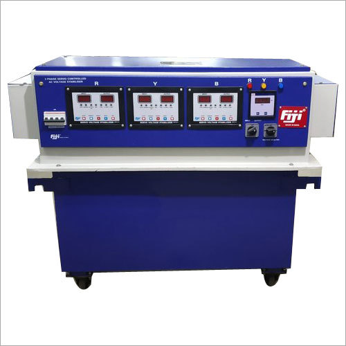 25 KVA 3 Phase Servo Controlled Voltage Stabilizer