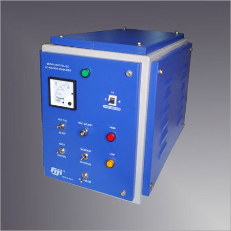 Single Phase Servo Controlled Voltages Stabilizer
