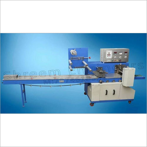 Powder Cotting Chikki Packing Machine